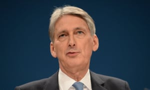 Philip Hammond said UK will await more data on the state of post-Brexit economy before making any decisions.