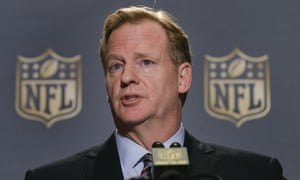 NFL commissioner Roger Goodell in May backed a league official who for the first time acknowledged a link between football and CTE.
