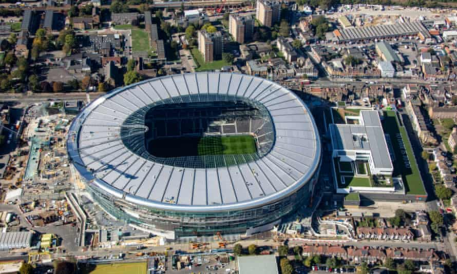 Work is close to being completed on Spurs' new stadium but the delays have cost the Premier League club as they continue to use Wembley for home games.