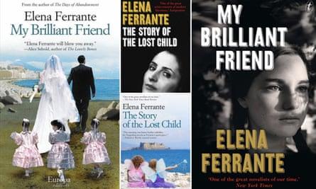 Books by Elena Ferrante: My Brilliant Friend & The Story of the Lost Child