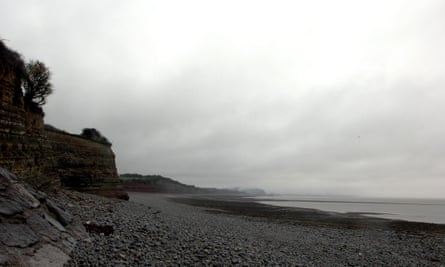 Lavernock Point, south of Cardiff, a possible northern end of a Severn barrage