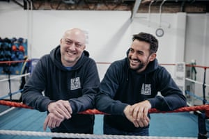 Founders Martin Bisp and Jamie Sanigar at the gym.