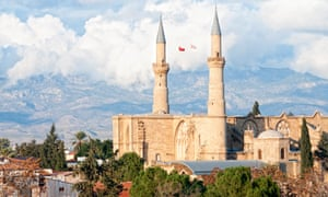 Selimiye Mosque in Nicosia, formerly the Cathedral of St Sophia.