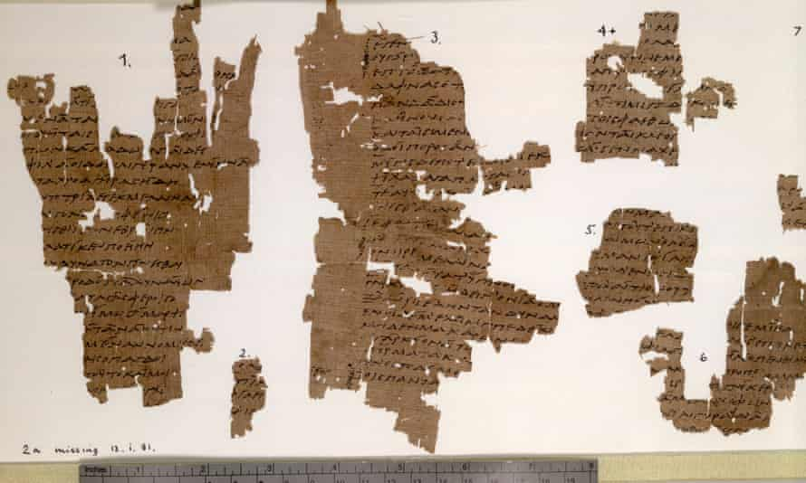 Sappho, Book IV fragments in the Sackler Library, Oxford