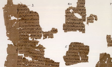 Sappho, Book IV, Papyrology Rooms, Sackler Library, Oxford