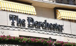 The Dorchester hotel.