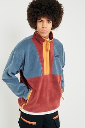 Contrast zip, £60, Columbia urbanutfitters.co.uk