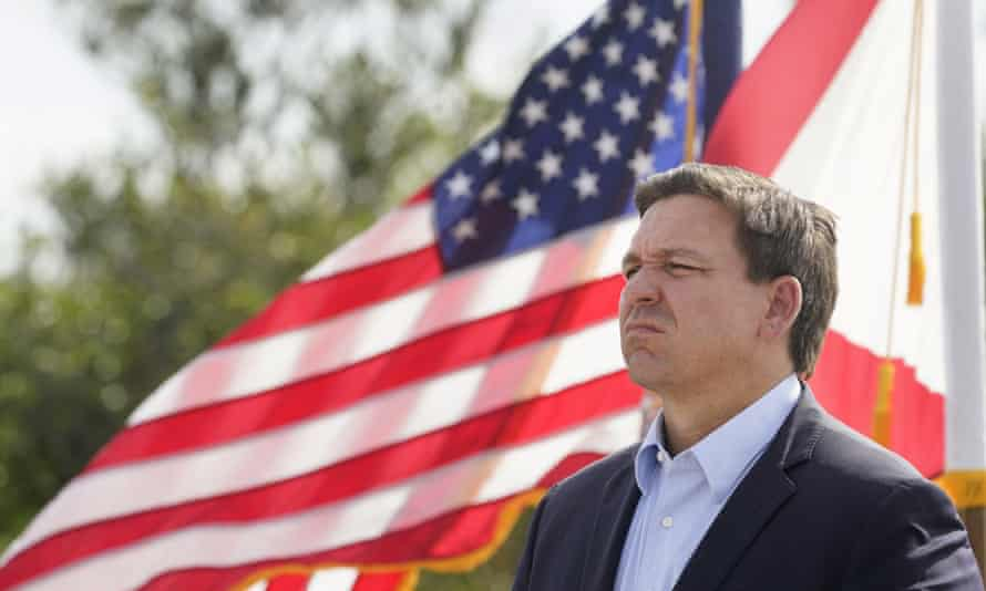 Governor Ron DeSantis of Florida has banned mask mandates in schools and threatened to withhold the salaries of officials who implement them.