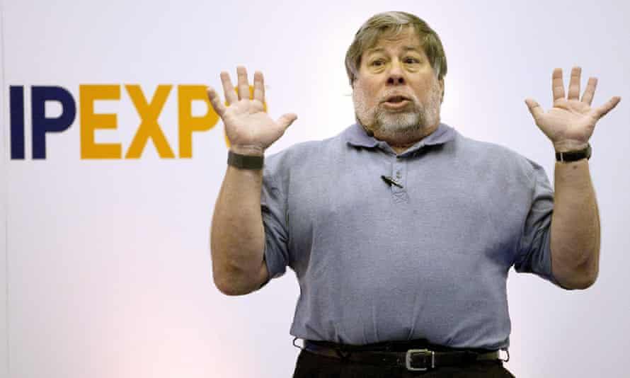 Steve Wozniak in 2011 at Britain's IP Expo.