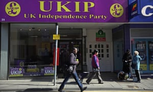 """The Ukip party office in Ramsgate. The editor of a local magazine says there has been a campaign of intimidation"""" against people publicly opposing Ukip."""
