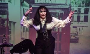 Frances Barber as rock legend Billie Trix in Musi