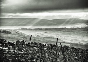 """Early morning view over Askrigg, Wensleydale""""The East-West orientation of Wensleydale produces stunning lighting throughout the day and the seasons. This photo was taken on the moor above Askrigg in Upper Wensleydale on a cool, damp winter morning."""""""