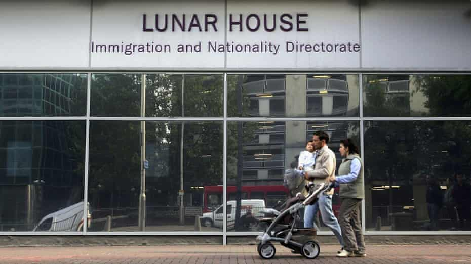 The Immigration and Nationality Directorate at Lunar House in Croydon in 2006, now known as the UK Visas and Immigration department.