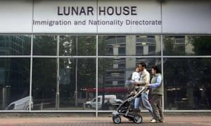 Lunar House in Croydon, south London.