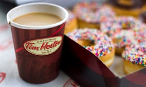 Robert Mackalski: 'Whenever there's a coffee or donut occasion there's going to be a Tim Hortons.'