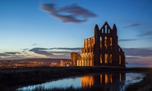Whitby Abbey at Night