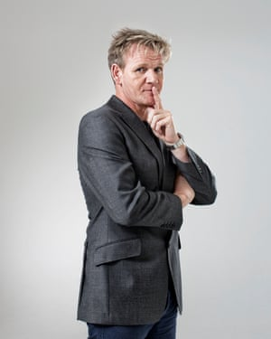 10 Chefs: Gordon Ramsay in London on 12 July 2013.