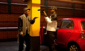 Jamal Edwards, creator of SBTV, films an MC in Morrisons car park, Acton, London.