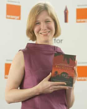 Orange literary prize winner Ann Patchett with her winning novel Bel Canto.