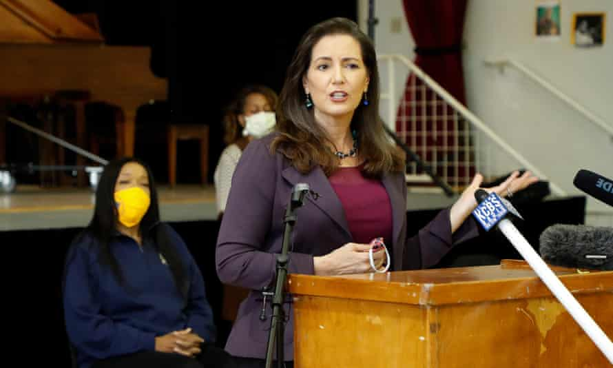 Oakland's mayor, Libby Schaaf, said: 'Guaranteed income is one of the most promising tools for systems change, racial equity and economic mobility'
