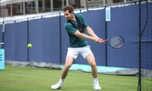 Andy Murray is set to play at Queens.