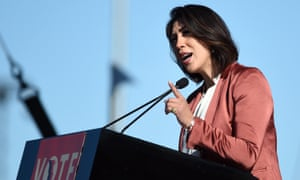 Paulette Jordan, the Democrat vying to become Idaho's next governor, would be the first woman to lead the state and also the first Native American governor.