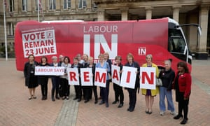 Labours Women In For Britain campaign pose for the media in Birmingham.