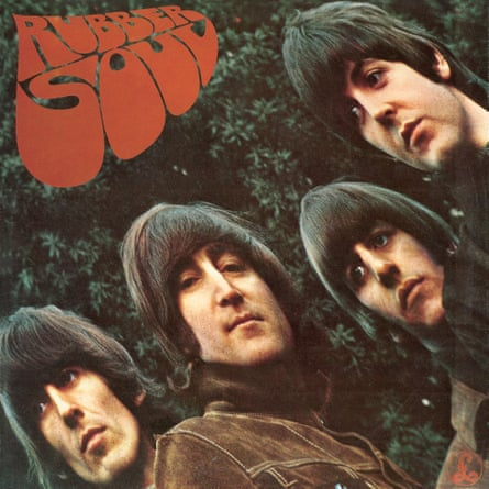 Robert Freeman created the Beatles' album cover Rubber Soul.
