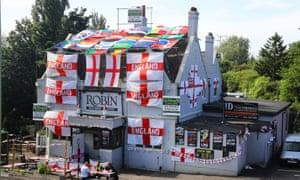 World Cup 2018 pub