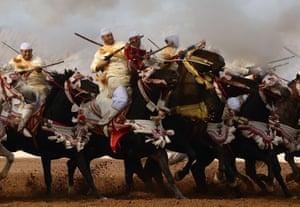 El Jadida, Morocco: Horsemen