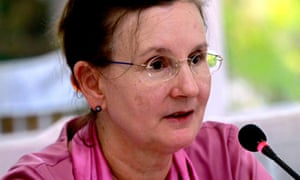 The former UN resident coordinator in Myanmar, Renata Lok-Dessallien