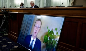 In October, Facebook CEO Mark Zuckerberg testified remotely during a Senate Committee on Trade, Science and Transportation hearing.