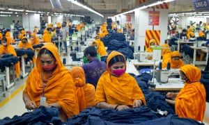Clothing from developing countries, including Bangladesh (above), will not be subject to the 10% tariff.
