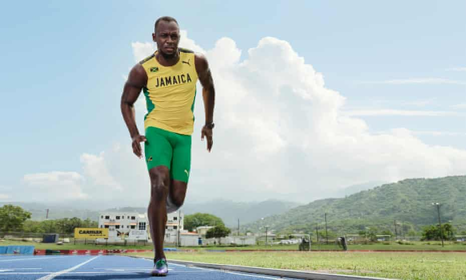 Usain Bolt in 800m training: 'I have no regrets. The legacy that I left is wonderful.'