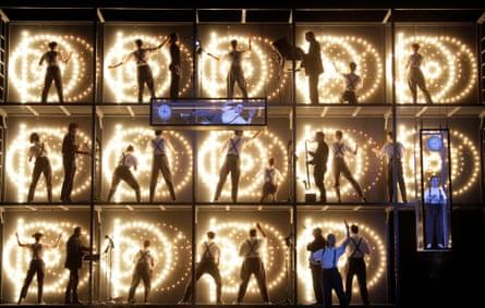 Power play … Philip Glass's Einstein on the Beach in Los Angeles, 2013.