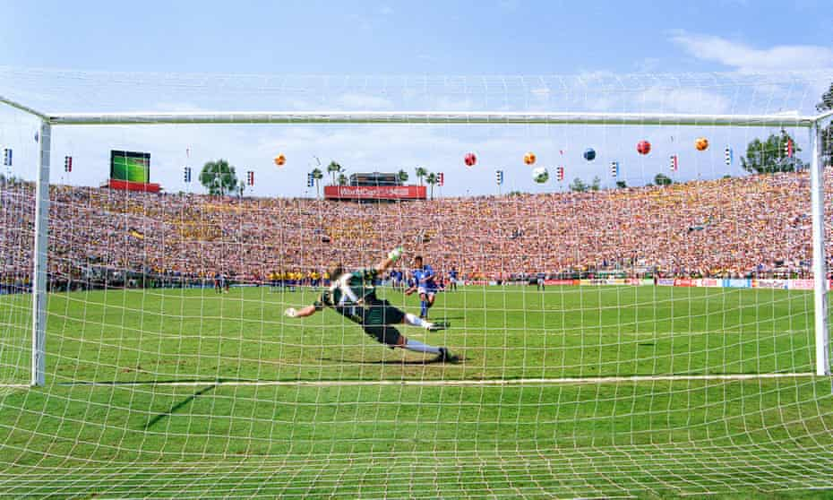 The Rose Bowl hosted the 1994 World Cup finals