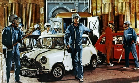 The Mini-Cooper became a symbol of British popular culture when it was driven as the getaway car in The Italian Job.