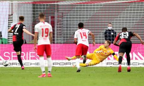Krzysztof Piatek pegs back RB Leipzig with late penalty for Hertha Berlin