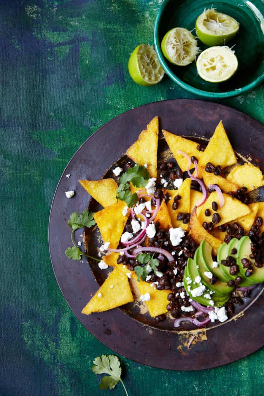 The Kitchen Cooperative's polenta nachos