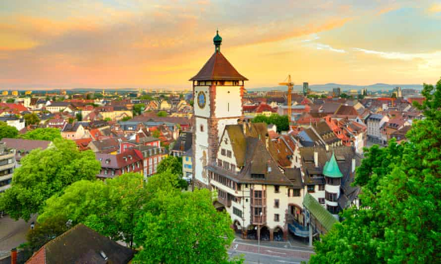 Freiburg, with its exquisitely preserved medieval old town, now also offers a number of eco-hotels.