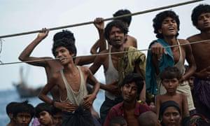 Rohingya migrants