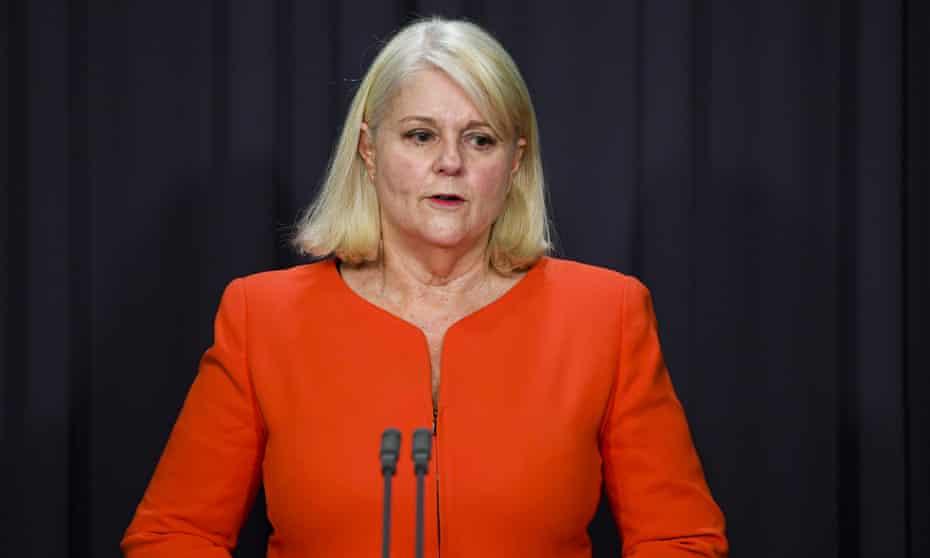 The home affairs minister, Karen Andrews