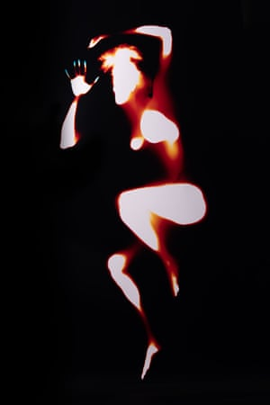 From the series of photograms  Locating The Personal by photographer and artist Melanie Issaka.