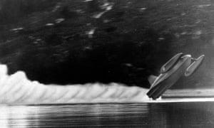 Campbell's fatal crash, 1967.