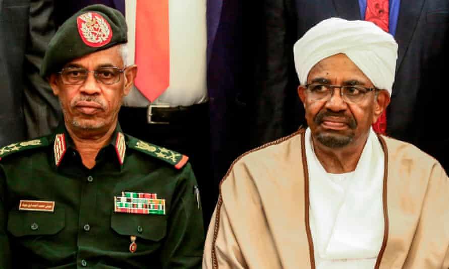 Ahmed Awad Ibn Auf and Omar al-Bashir