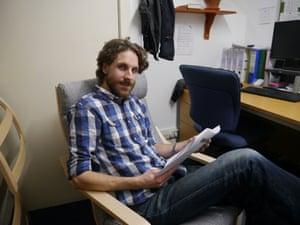 Paul Stevenson in Bethany House.