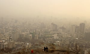 Smog in Tehran