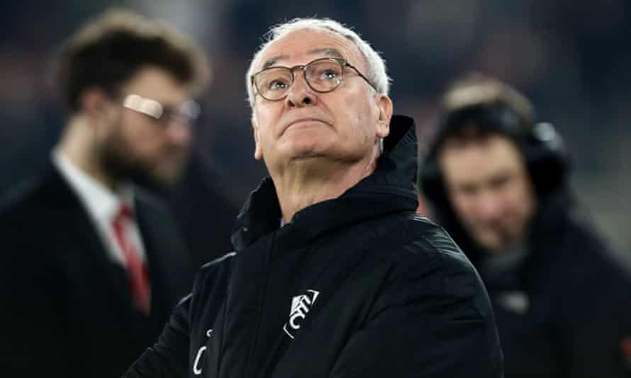 Claudio Ranieri has taken 12 points from 16 games as Fulham's manager.