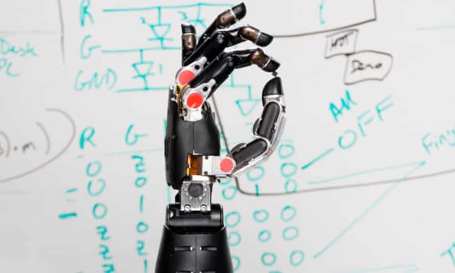 robotic prosthetic hand