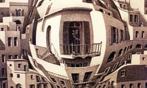 A detail from Balcony, by Escher